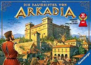 """Rezension """"Die Baumeister von Arkadia"""""""