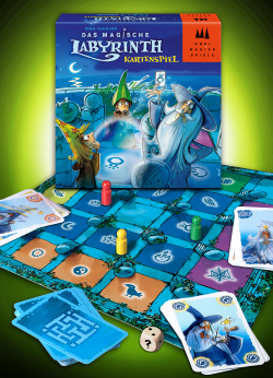 Das Magische Labyrinth Kartenspiel (Drei Magier Spiele)