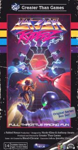 "Rezension ""Lazer Ryderz"""