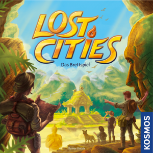 "Rezension ""Lost Cities – das Brettspiel"""