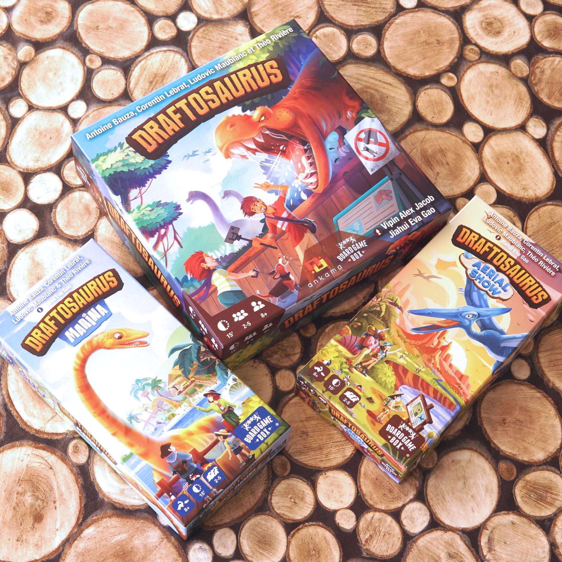 Draftosaurus (Aerial Show + Marina) (Board Game Box)