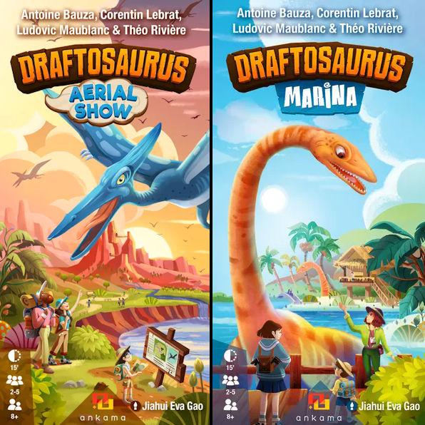 """Rezension """"Draftosaurus – Erweiterungen"""""""